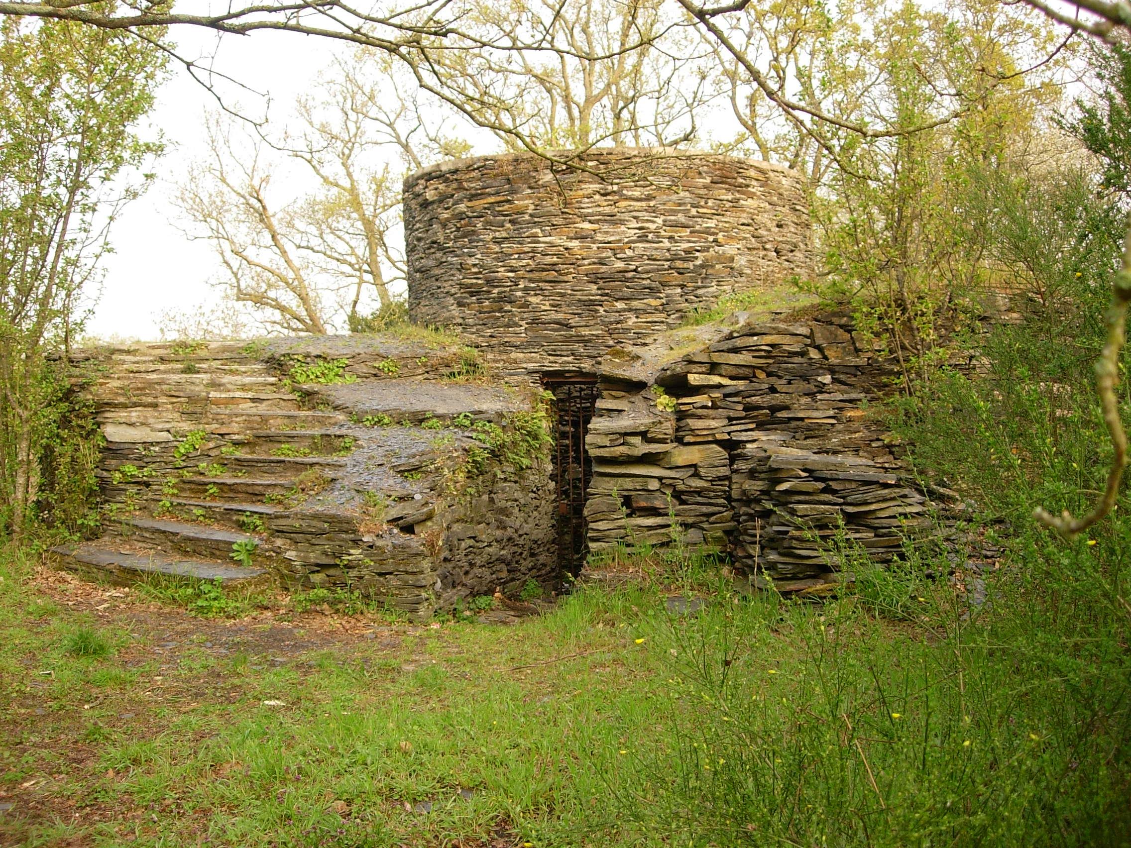 4- État du moulin restauré par les bénévoles en 1997