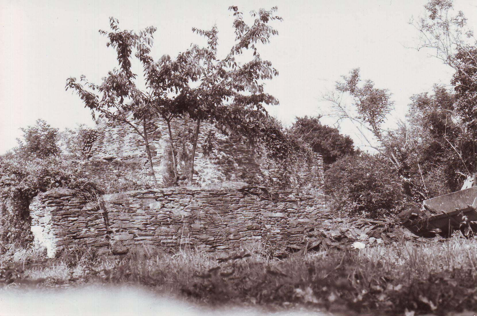 1-Ruines du moulin en 1985