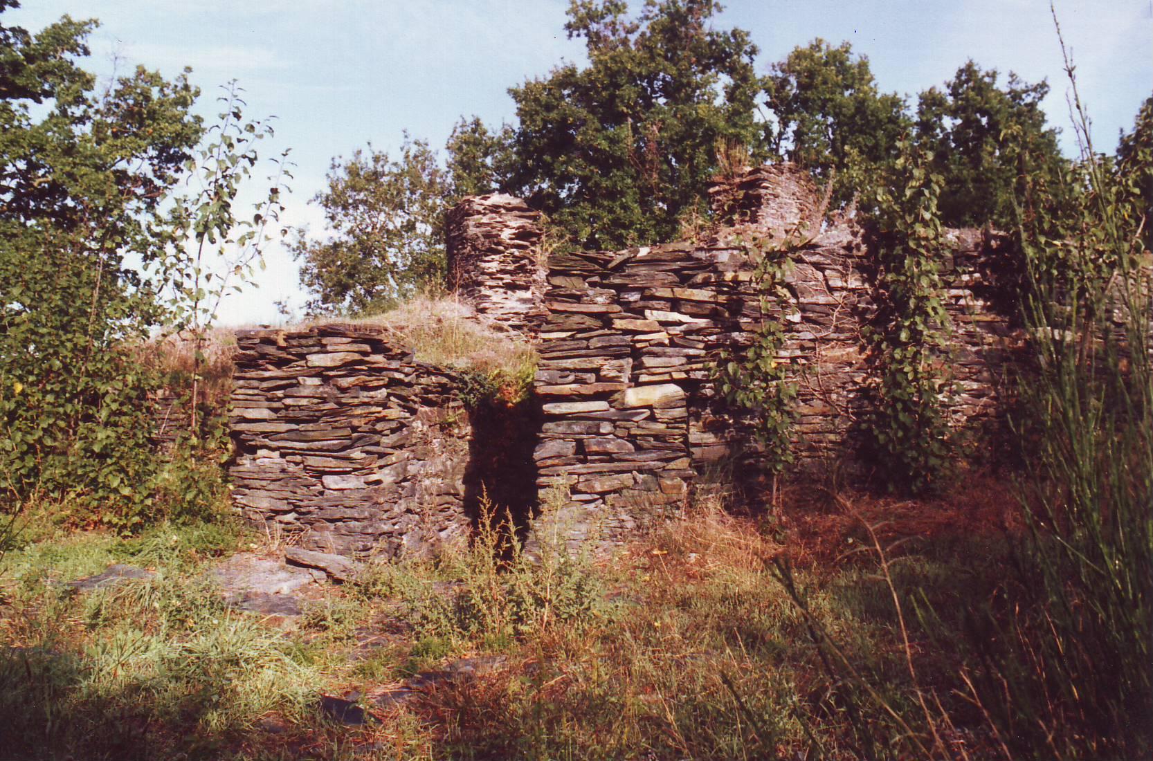 2- Ruines du moulin en 1985