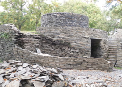 Reconstruction du mur