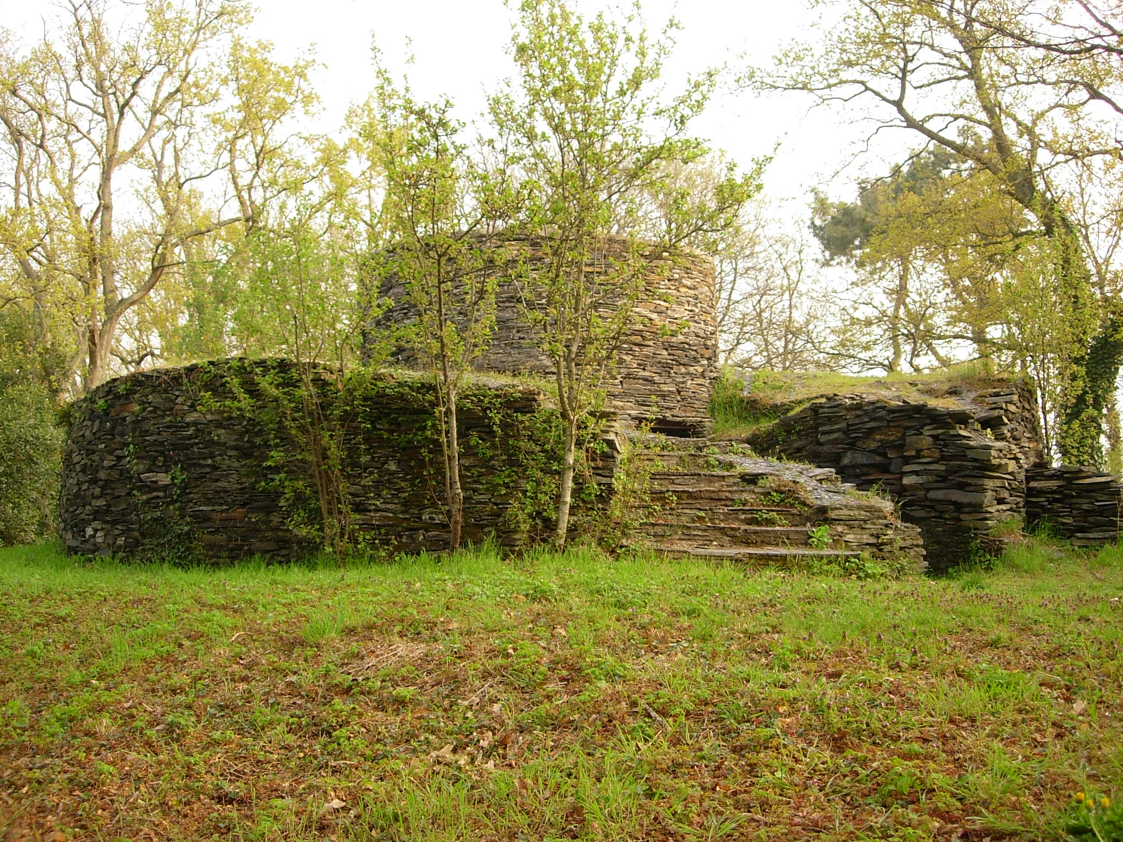 5- État du moulin restauré par les bénévoles en 1997